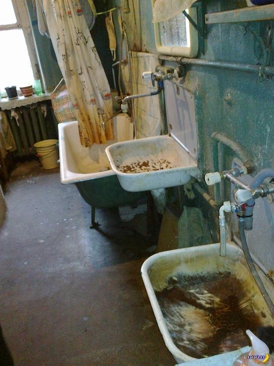 Невероятные ванные в коммуналках