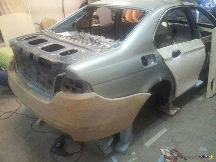 Превращение BMW E39 в BMW F10