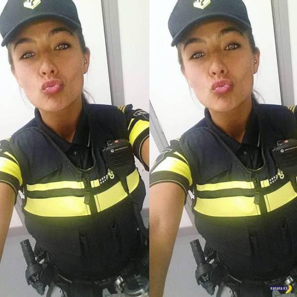 Полицайка хороша!