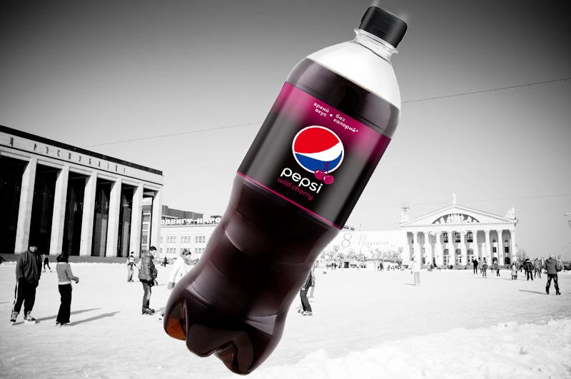 В Беларуси появился напиток Pepsi Wild Cherry!