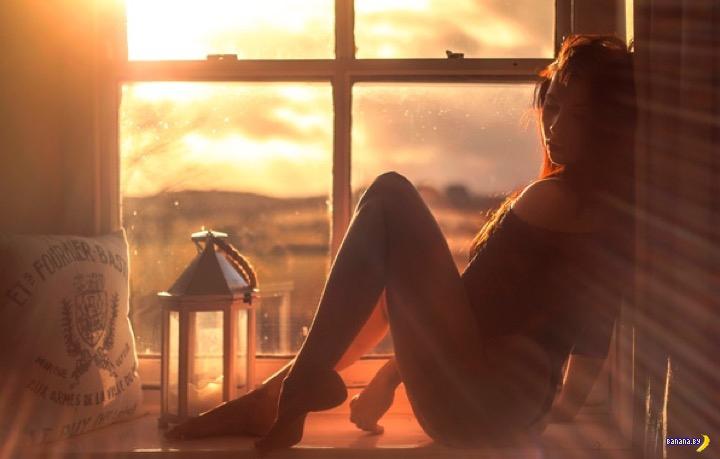 Опасное солнце в окне
