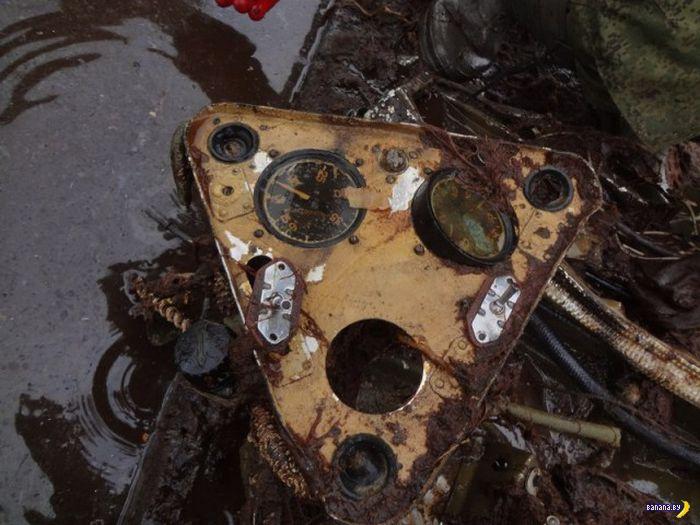 Подъем ДБ-3 из болота