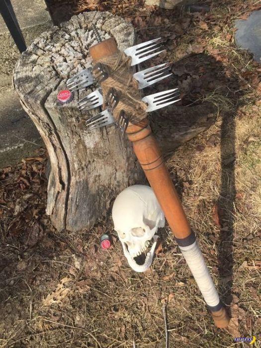 Оружие на случай зомби-апокалипсиса