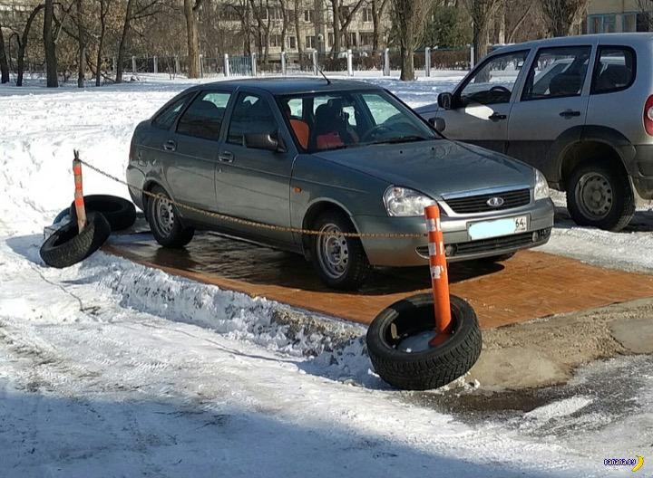 А вот ещё один помещик с парковки!