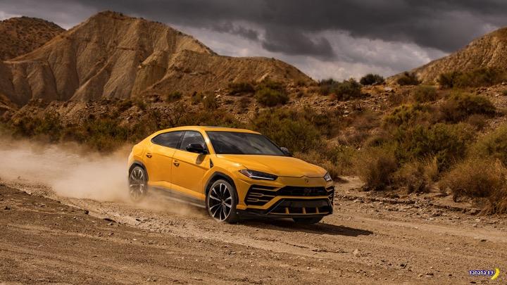 Интересное про Lamborghini и Urus