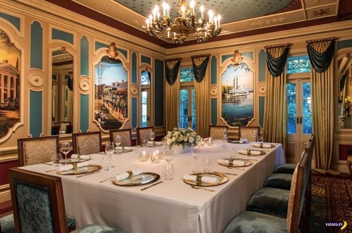 Новый ресторан в Диснейленде