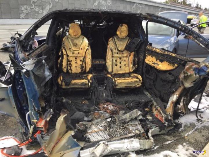 Tesla сожгла своего владельца