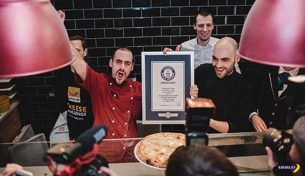Самая сырная пицца в мире