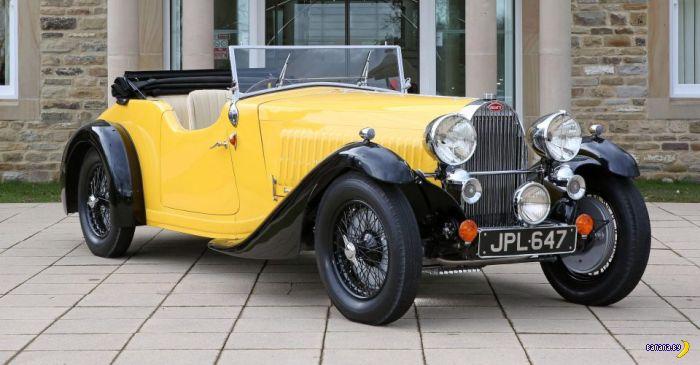 Банановый 1935 Bugatti Type 57 Grand Raid