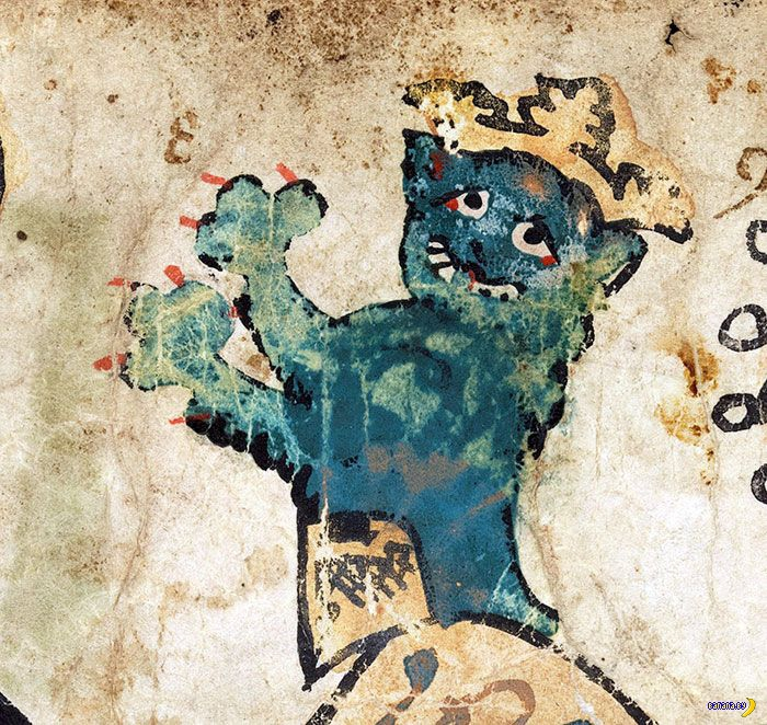 Средневековые коты