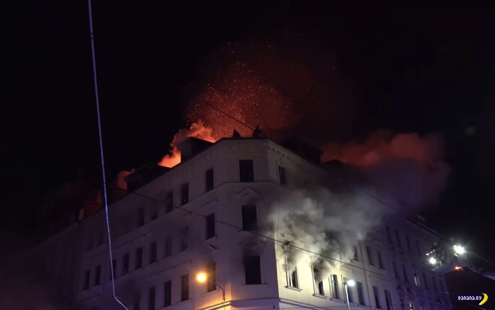 Сириец устроил пожар в Лейпциге