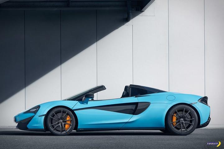 А как вам McLaren 570S Spider Track Pack Sports Car?