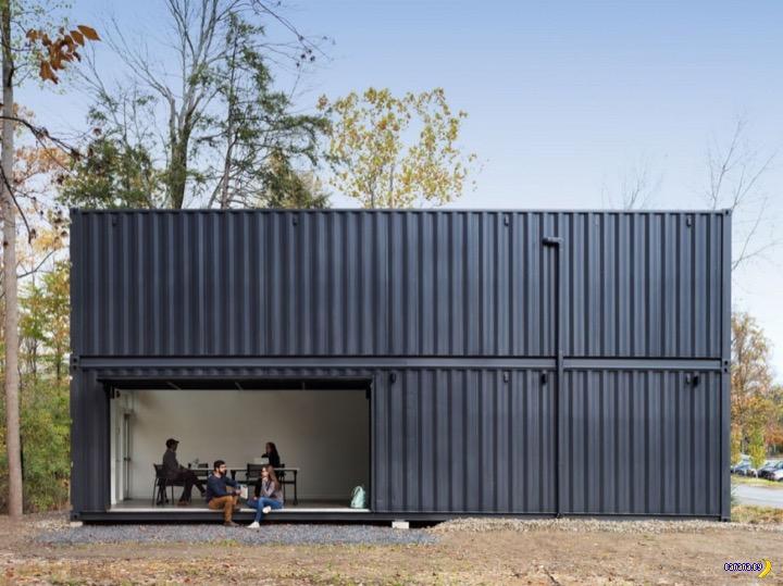 Модульный дом из контейнеров