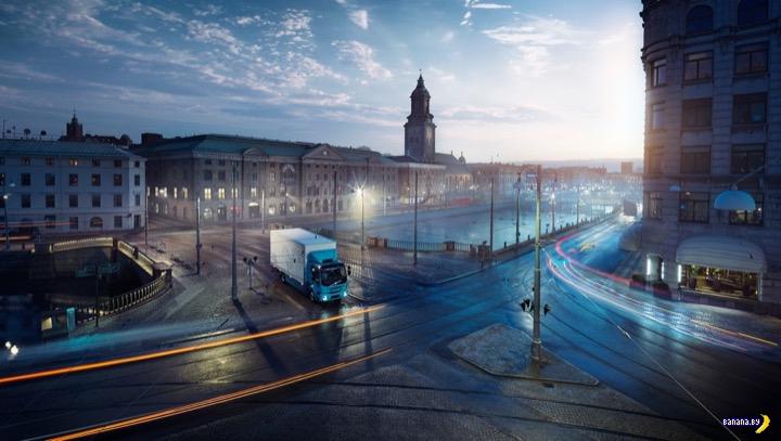 Первый электрический грузовик от Volvo