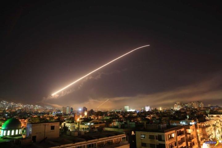 Как бомбили Сирию: подробности
