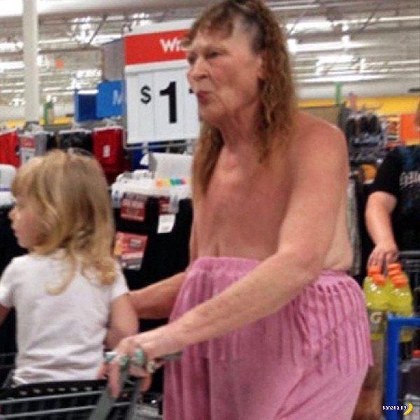 Яркие модники из Walmart - 15