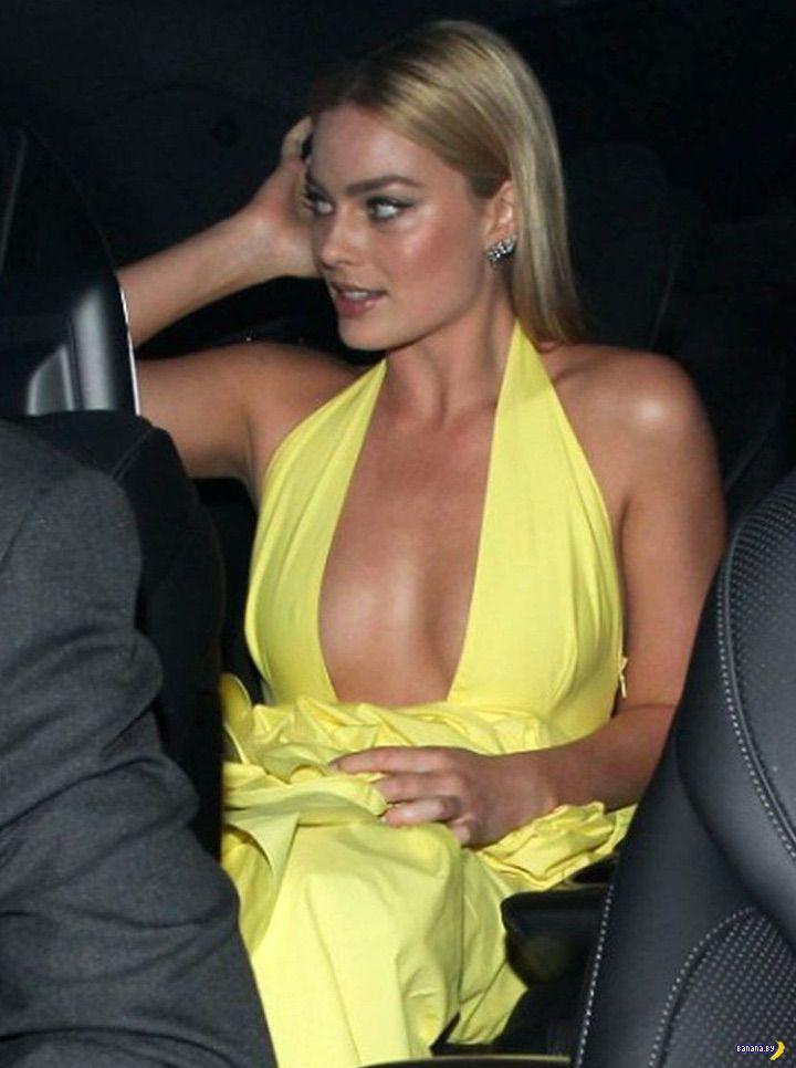 Жёлтое платье подвело Марго Робби