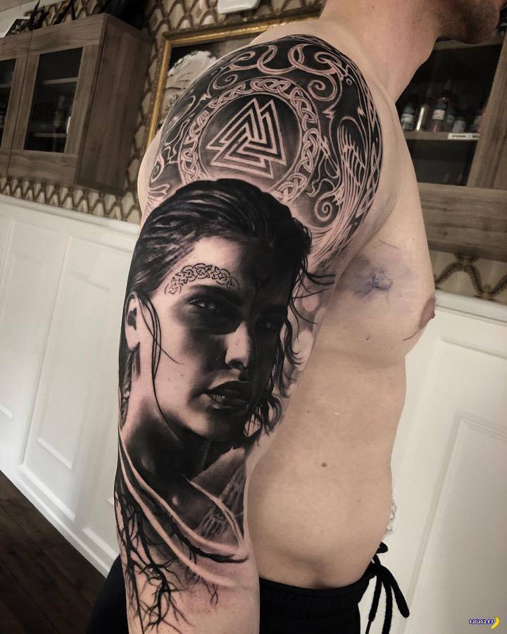 Татуировки на зависть - 103 - Mark Wosgerau