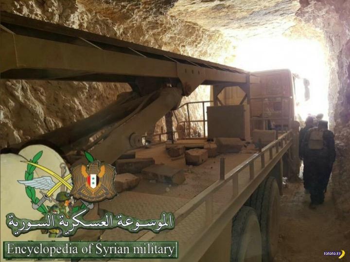 Сирийские ребелы добыли интересные ракеты