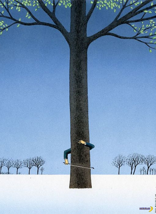 Сюрреализм в  иллюстрациях Гая Билло