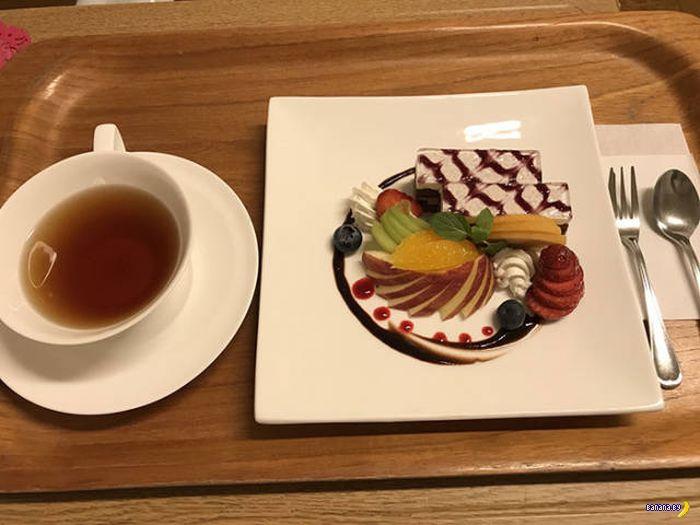 Больничная еда в Японии