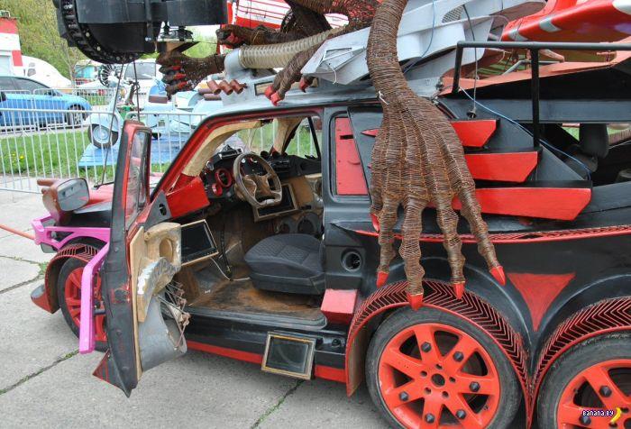 Украинский монстра на колёсах
