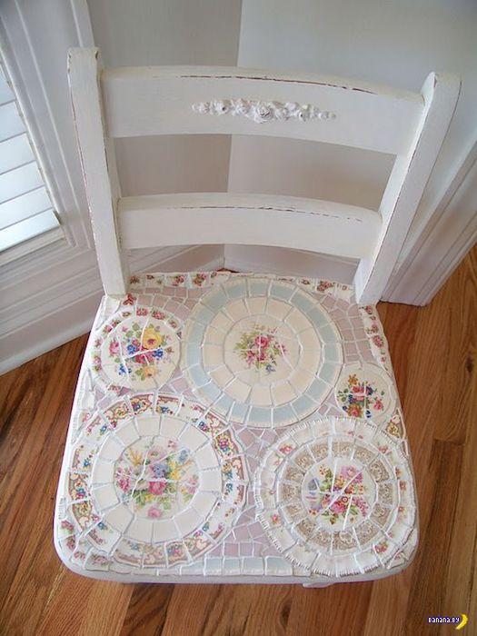 Не спешите выбрасывать разбитые тарелки!