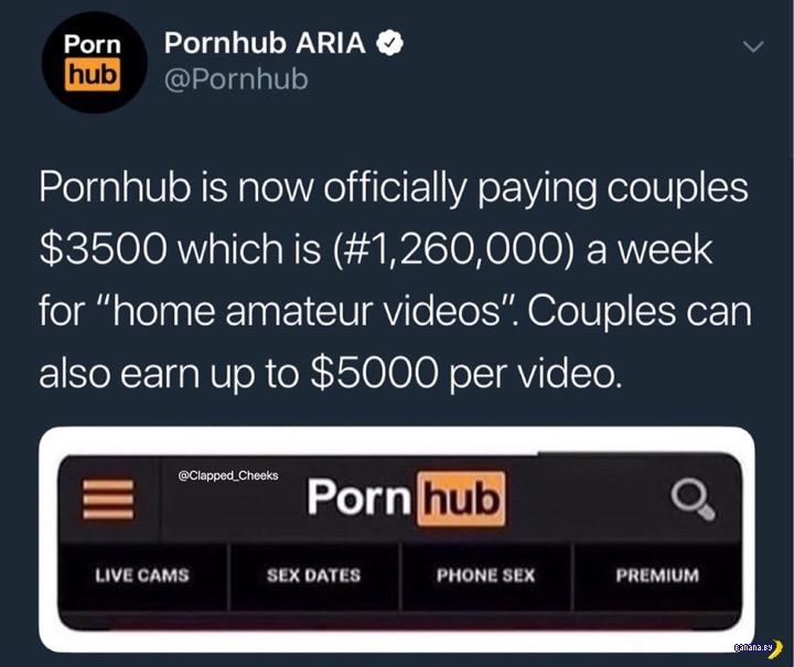 Как PornHub сам себя заполняет контентом