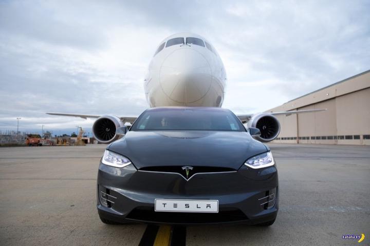 Tesla ставит мировой рекорд