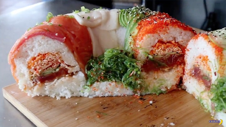Суши-бублик на 7.2 кг!