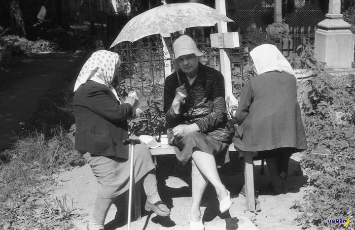 СССР на черно-белых фотографиях