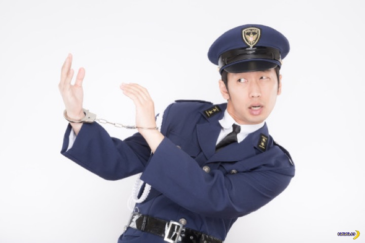 Японский коп с приветом