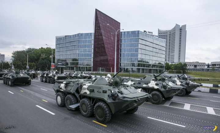 Анонсирован парад в Минске!