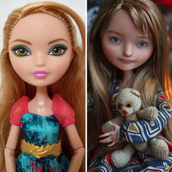 Тюнинг магазинных кукол