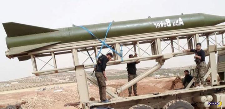 Новости ракетостроения у ребелов в Сирии