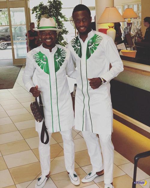 Сборная Нигерии по футболу и их прикид