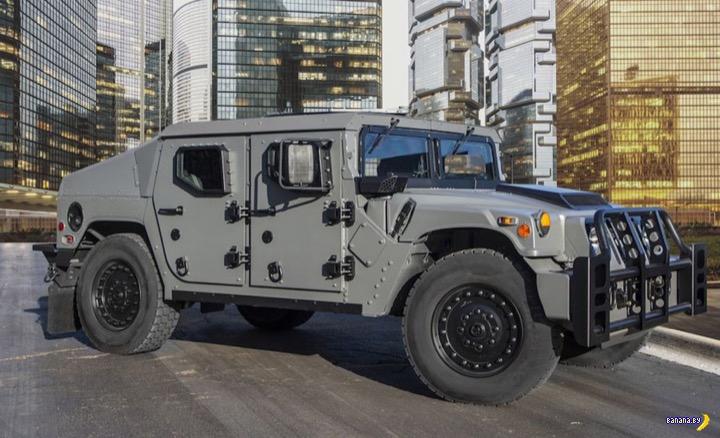 Новый Humvee!