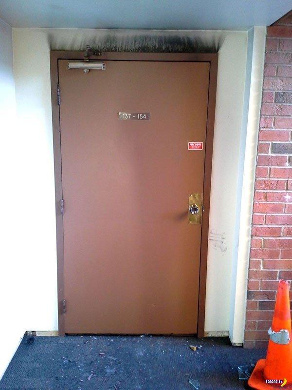 Зачем нужны противопожарные двери