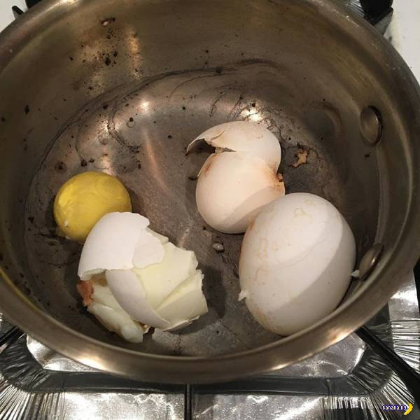 Провалы на кухне!