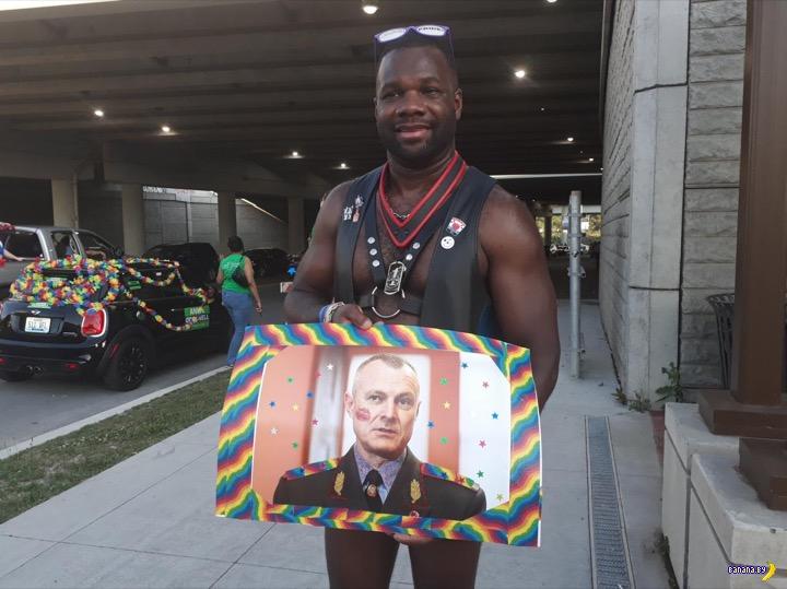 Знакомое лицо на гей-параде в Кентукки