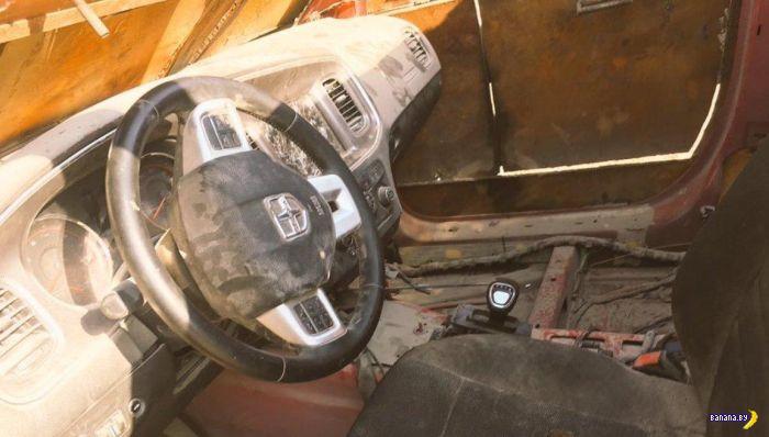 Заряженный Dodge Charger от бармалеев