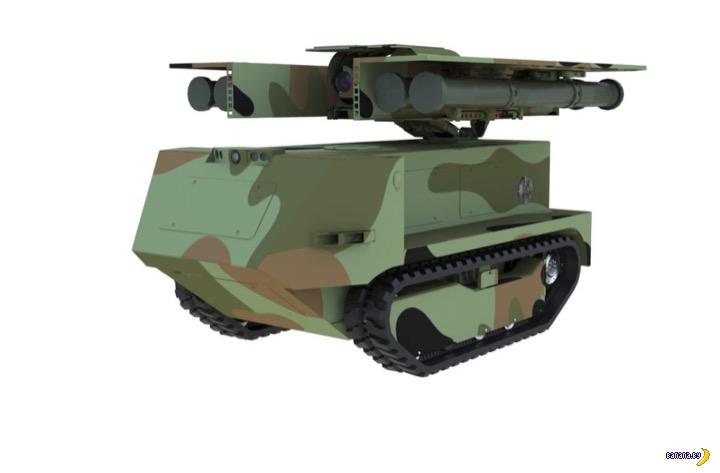 Белорусские боевые роботы!