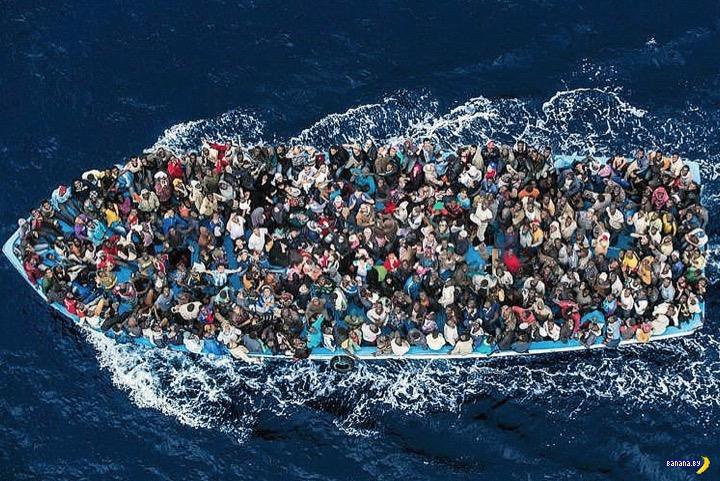 Ливия послала Италию подальше в вопросе с беженцами