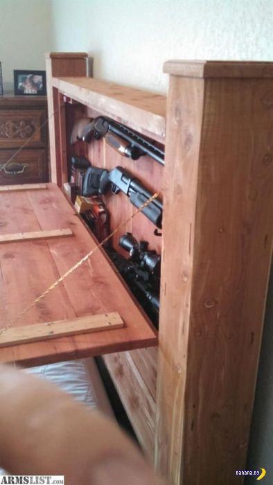 Мебель с тайниками для оружия