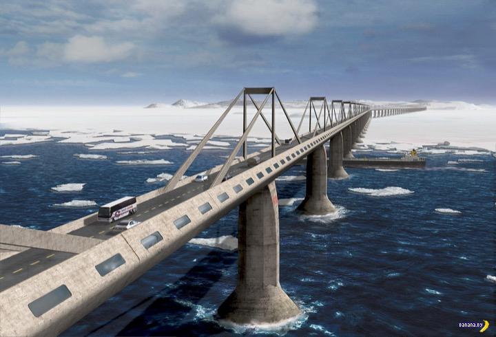 В России начали думать про мост на Сахалин