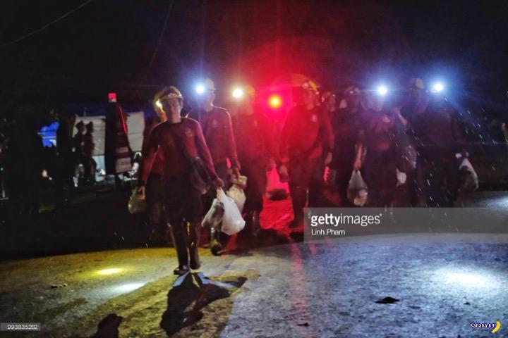 Спасательная операция в Таиланде началась - обновлено!