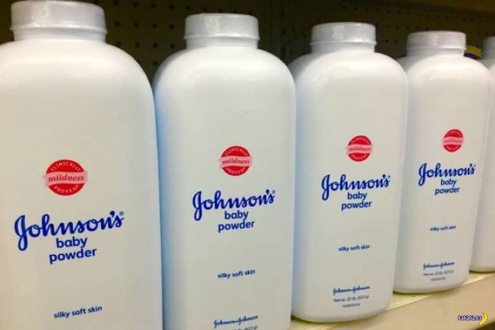 Дело с детской присыпкой Johnson's Baby Powder
