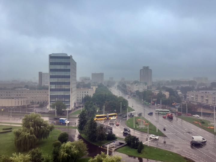 Погода: гроза, дождь, прохладно!