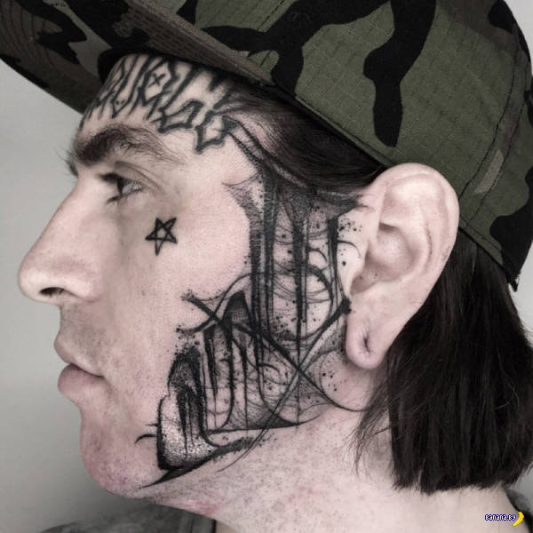 Татуировки на зависть - 106 - Забитые лица