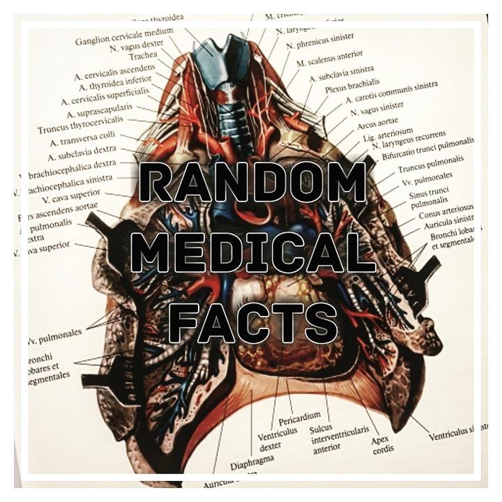 Рандомные медицинские факты - 3
